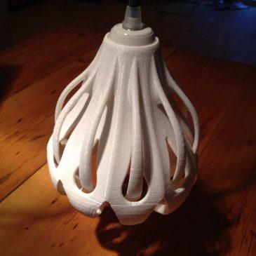 Neuer Prototyp Leuchte Morph