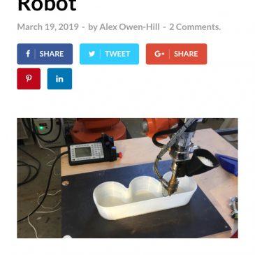 Beitrag von RoboDK über Engineering-Art